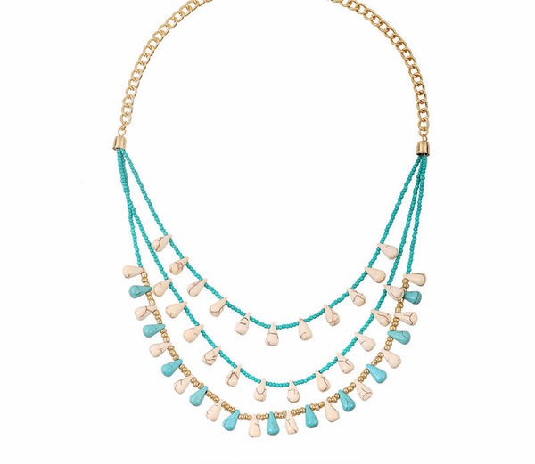Boho Layer Statement Necklace