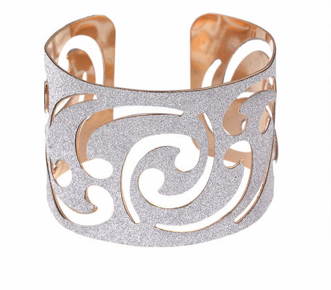 Hollow Wide Cuff Bracelets