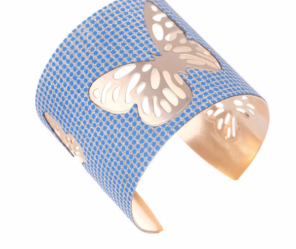 Butterfly Sticker Cuff Bracelet