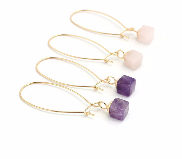Yin Quartz Earrings