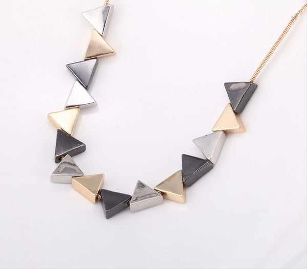 Geo Triangle Necklace