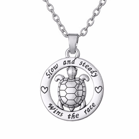 Turtle Pendant Necklace- Save Up to 30%