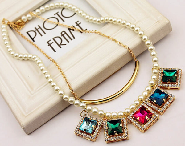 East Point Jewel Statement Necklace