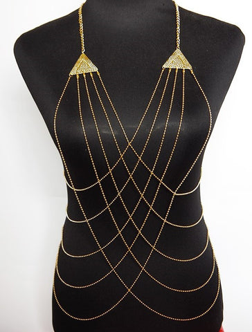 Pyramid Body Chain