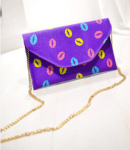 Lipstick Chain Purse