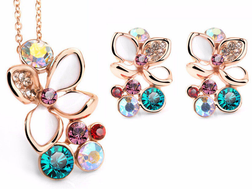 G  Crystal Flower  Set
