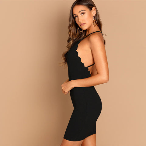 Cutter Halter Dress