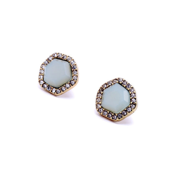 Crystal Rock Studs