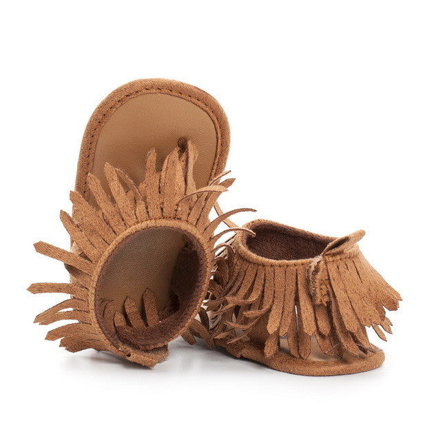 Sole First Fringe Sandals