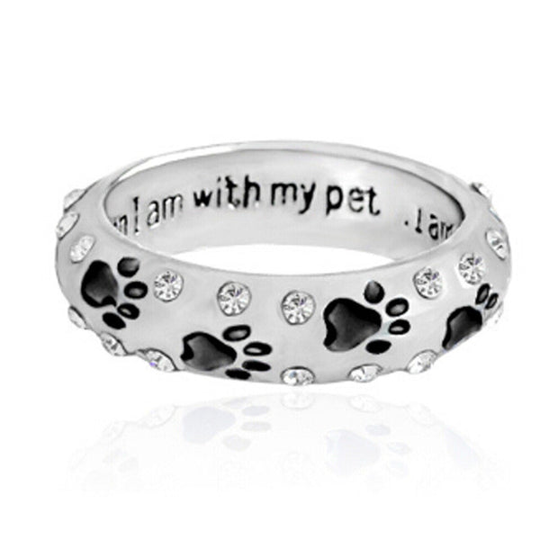 Pet Lovers CZ Ring