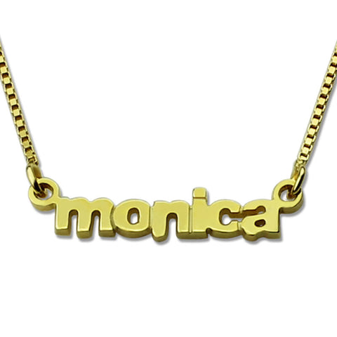 Petite Nameplate  Necklace
