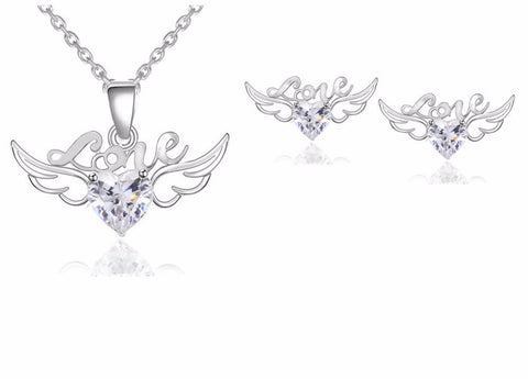 Angle Wings Jewelry Set