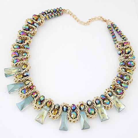 New Aurora Twist M  Bar Necklace