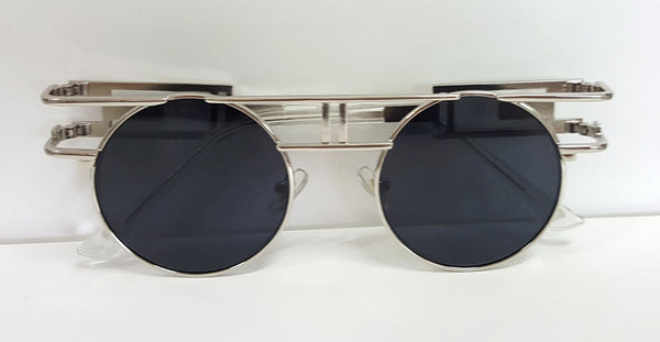 B Boxed Metal Frame  Sunglasses