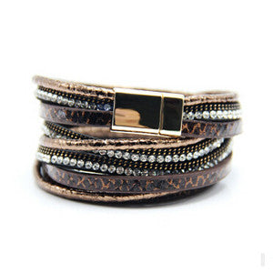 CZ Luxury Layer Crystal Bracelets