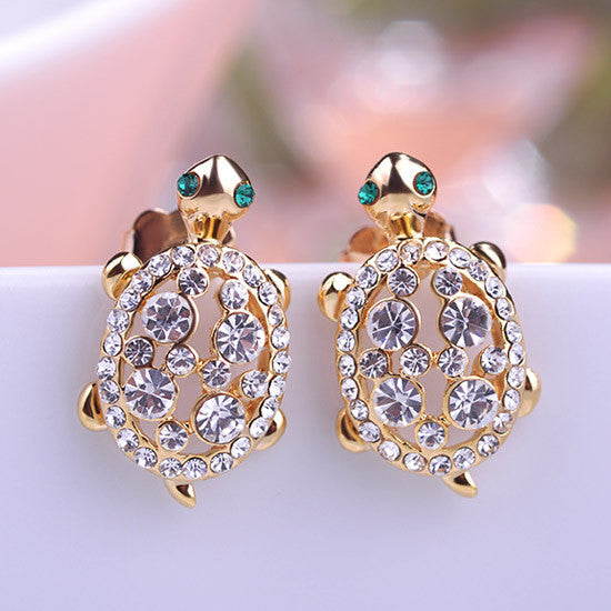 CZ Tortoise Earrings- Save Up To 25% Off