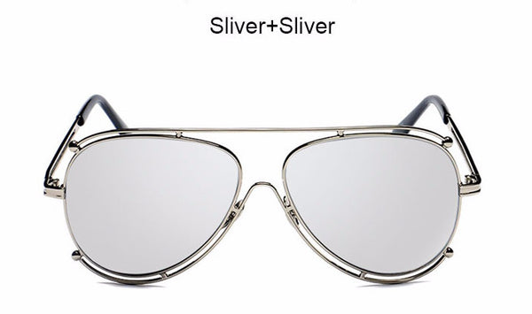 Mirror Pilot  Sunglasses