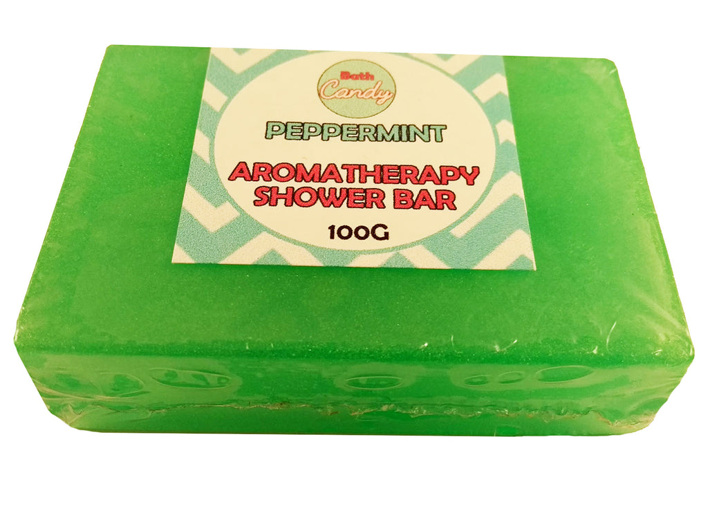 Peppermint Aromatherapy Shower Bar 100g