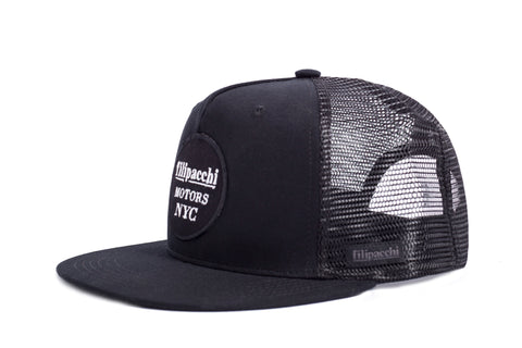 Filipacchi Trucker Hat - Filipacchi Motors Logo - Side View