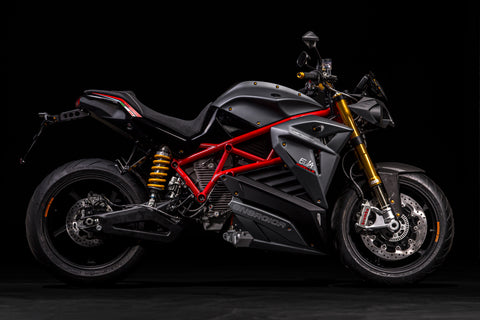 Energica Ribelle in Stealth Grey