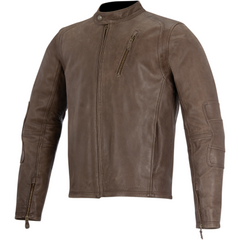 Alpinestars Leather Jacket Oscar Monty Brown