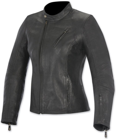 Alpinestar Women's Leather Jacket Shelley Black