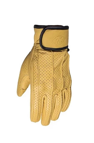 78 Motor Co Speed Glove Dune Yellow