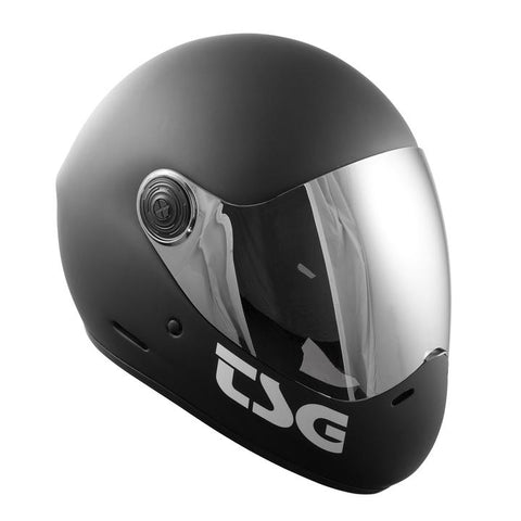 TSG Pass Helmet - Matt Black