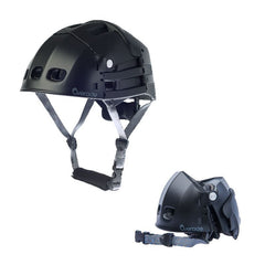 Overade - Plixi Foldable Bicycle Helmet  - Black