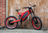 Stealth F-37 Electric Bike- Devils Red: 2-4 Week Shipping