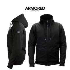 Black Armored Jacket - By Lazyrolling
