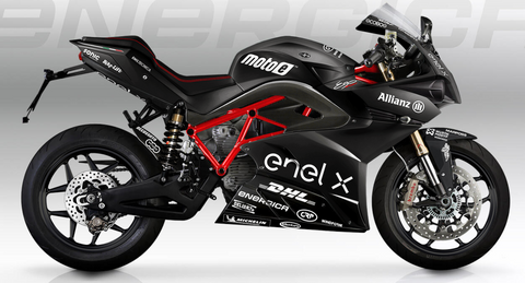 Energica Ego with Sport Black Kit
