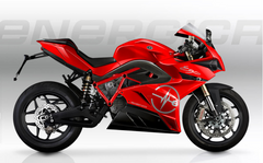 Energica Ego+ in Rosso Corsa