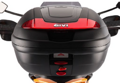 Zero S,SR,DS,DSR Top Box by GIVI and Rack Kit