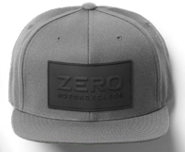 Zero Hat - Logo Patch Grey