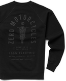 Zero Crewneck Sweatshirt Black