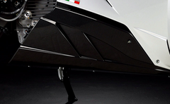 Energica EGO - Sleek Carbon Belly Pan