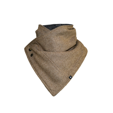 Crossover Cowl - Brown