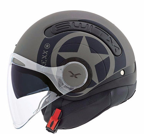 Nexx Helmet Switx.10 Hero - Concrete