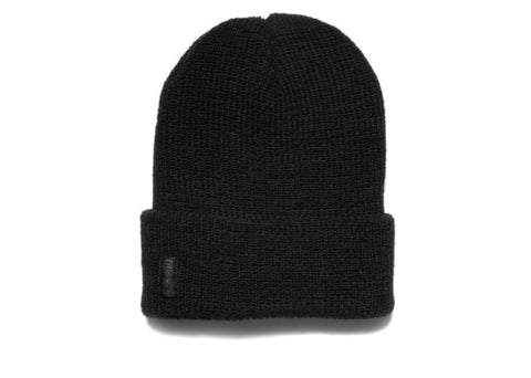 Filipacchi 100% Government Issued Wool Watch Cap - Black