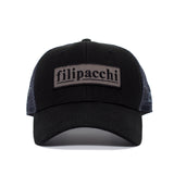 Filipacchi Baseball Hat - Black - Front View