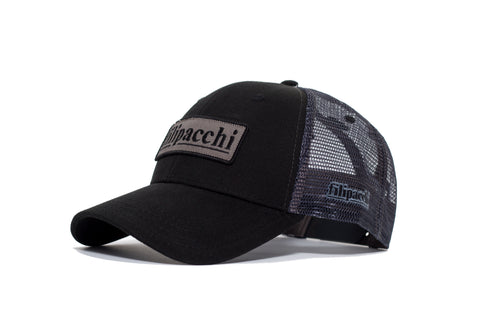 Filipacchi Baseball Hat - Black - Side View