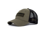 Filipacchi Baseball Hat - Logo - Green/Black mesh (new)
