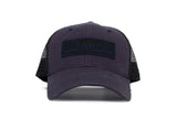Filipacchi Baseball Hat - Navy Blue - Front View