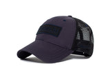 Filipacchi Baseball Hat - Navy Blue - Side View