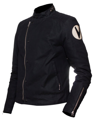 Vanson Woman's -  Mota  Jacket - Black (model 5005 a150)