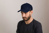 Filipacchi Wool Baseball Cap - Navy