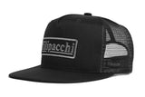 Filipacchi Trucker Hat - Logo - Black