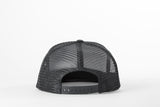 Filipacchi Black/Blue Cotton Trucker Hat