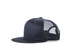 Filipacchi Navy Cotton Trucker Hat